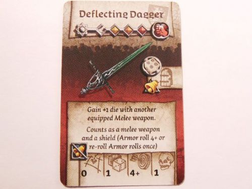 wulfsburg survivor equipment card (deflecting dagger)